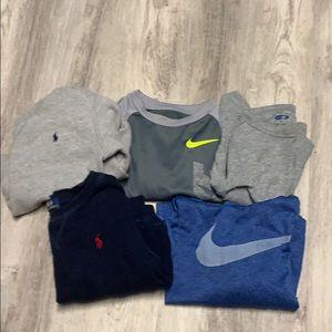 2T boys bundle of shirts